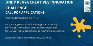 UNDP Accelerator Lab Creatives Innovation Challenge