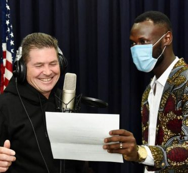 U.S. Ambassador to Kenya Kyle McCarter features in a new music video for peace with Kenyan rapper King Kaka for the #16BarsforPeace hip hop campaign.
